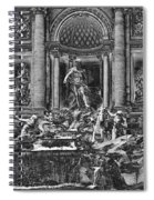 The Trevi Fountain  Spiral Notebook