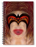 The Ultimate Warrior  Spiral Notebook