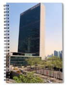 The United Nations Spiral Notebook
