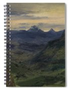 The Valley Of Saint-vincent Spiral Notebook