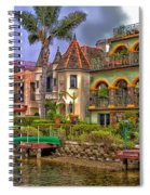 The Venice Canal Historic District Spiral Notebook