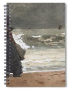 The Watcher, Tynemouth Spiral Notebook