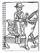 The Wife Of Bath Spiral Notebook