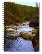 The Yak River Spiral Notebook