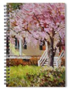 The Yellow Porch Spiral Notebook
