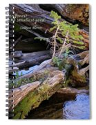 There Would Be No Forest... Spiral Notebook