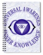 Third Eye Chakra Spiral Notebook