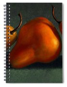 Three Golden Pears Spiral Notebook