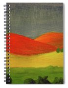 Three Standing Spiral Notebook