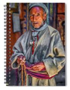 Tibetan Refugee - Paint Spiral Notebook