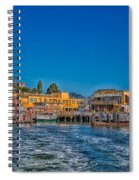Tiburon Waterfront Spiral Notebook