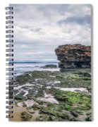 Tides Of Flowing Time Spiral Notebook