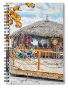 Tiki Bay Island  Spiral Notebook