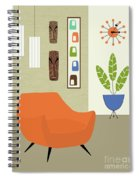 Tikis On The Wall Spiral Notebook