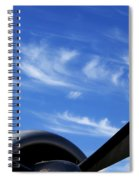 Time Flies Spiral Notebook