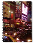 Times Square Night Spiral Notebook
