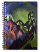 Tinzenhorn Zugen Gorge Near Monstein Spiral Notebook