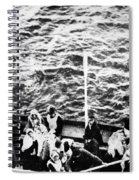 Titanic: Lifeboats, 1912 Spiral Notebook