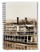 Tom Greene River Boat Spiral Notebook