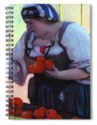 Tomatoe Lady Spiral Notebook