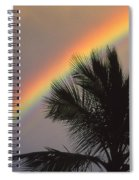 Top Of A Palm Tree Spiral Notebook