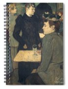 Toulouse-lautrec, 1892 Spiral Notebook