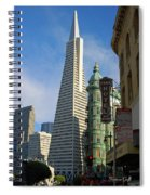 Tow-away Zone -san Francisco Spiral Notebook