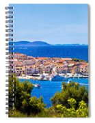 Town Of Primosten Panoramic View Spiral Notebook