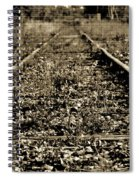 Tracks  To Where Spiral Notebook