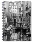 Traditional Venetian Gondolier Spiral Notebook