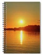 Tranquil Sunset Spiral Notebook