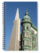 Transamerica Pyramid Building Spiral Notebook