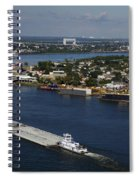 Transportation - Shipping On The Mississippi River Spiral Notebook