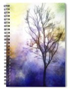 Tree On Vine Spiral Notebook