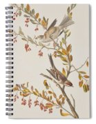 Tree Sparrow Spiral Notebook