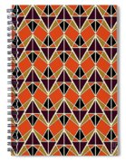 Triangles Pattern Spiral Notebook