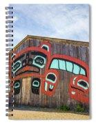 Tribal Totem Pole In Ketchikan Alaska Spiral Notebook