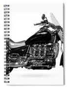Triumph Rocket IIi Motorcycle Spiral Notebook