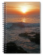 Tropical Bali Sunset Spiral Notebook