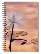 Tropical Lily Spiral Notebook