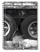 Truck Tires Spiral Notebook