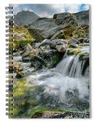 Tryfan In The Ogwen Valley Spiral Notebook