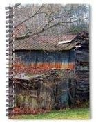 Tumbledown Barn Spiral Notebook