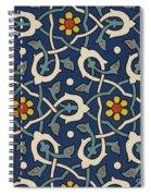 Turkish Textile Pattern Spiral Notebook