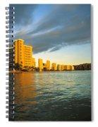 Twilight Waikiki Spiral Notebook