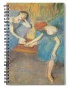 Two Dancers At Rest Spiral Notebook
