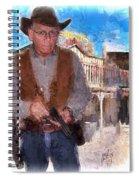 Two Gun Earl Spiral Notebook