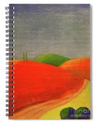 Two Standing Spiral Notebook