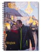 Ula And Wojtek Engagement 12 Spiral Notebook