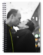 Ula And Wojtek Engagement 8 Spiral Notebook